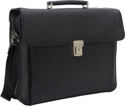 Goodhope Bags The Frakfurt Computer/Tablet Brief Black - Goodhope Bags Non-Wheeled Business Cases