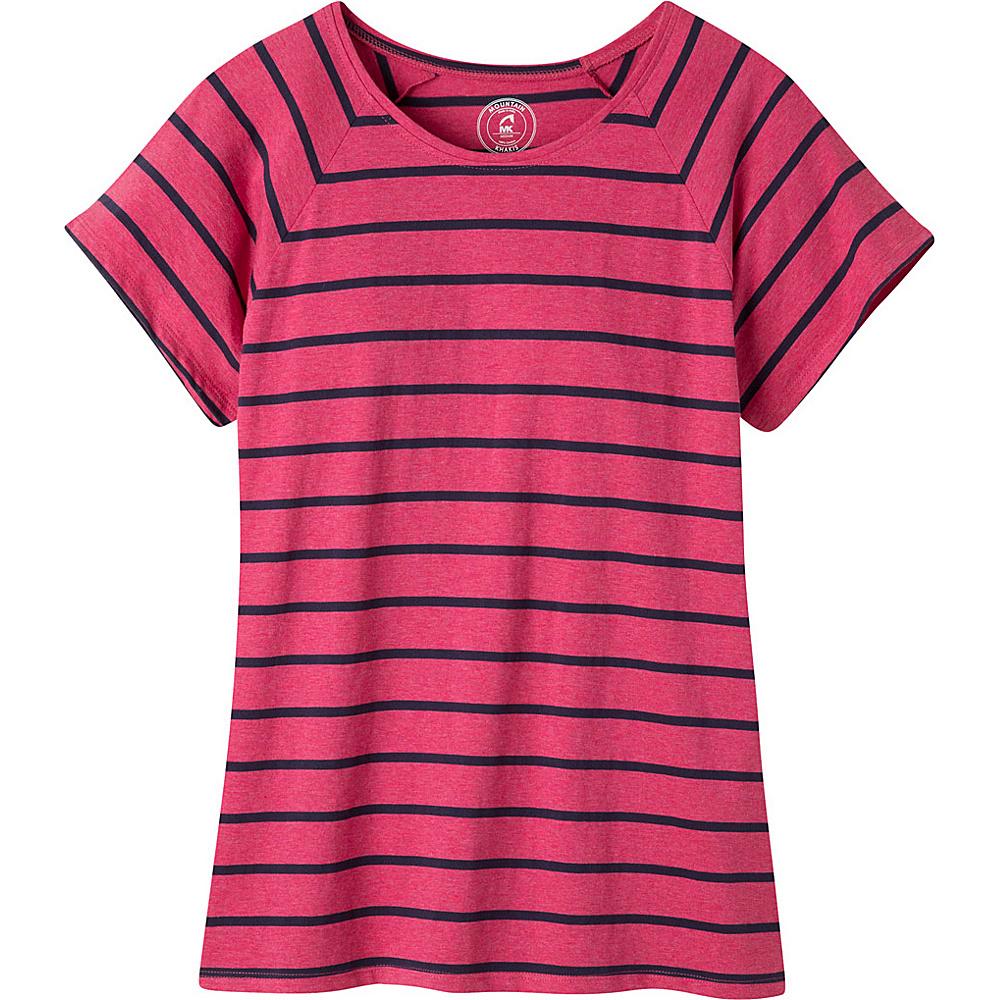 Mountain Khakis Cora Short Sleeve Shirt XS - Sangria - Mountain Khakis Womens Apparel - Apparel & Footwear, Women's Apparel