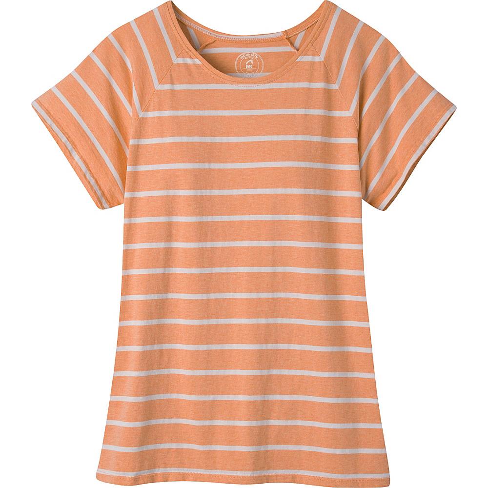 Mountain Khakis Cora Short Sleeve Shirt S - Peachy - Mountain Khakis Womens Apparel - Apparel & Footwear, Women's Apparel