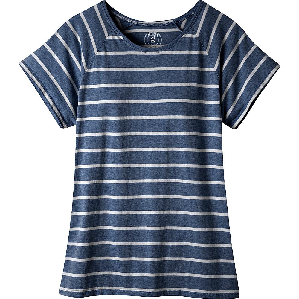 Mountain Khakis Cora Short Sleeve Shirt S - Midnight Blue - Mountain Khakis Womens Apparel - Apparel & Footwear, Women's Apparel