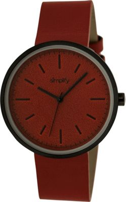 Simplify 3000 Unisex Watch Black/Red - Simplify Watches