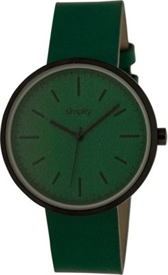Simplify 3000 Unisex Watch Black/Teal - Simplify Watches