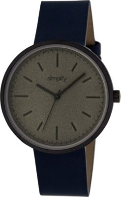 Simplify 3000 Unisex Watch Black/Navy - Simplify Watches