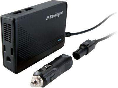 Kensington Auto/Air Power Inverter with Two USB Ports Black - Kensington Electronic Accessories