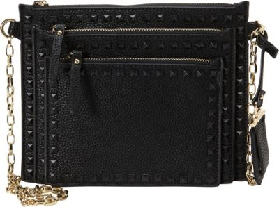La Diva Perri Crossbody Black - La Diva Manmade Handbags