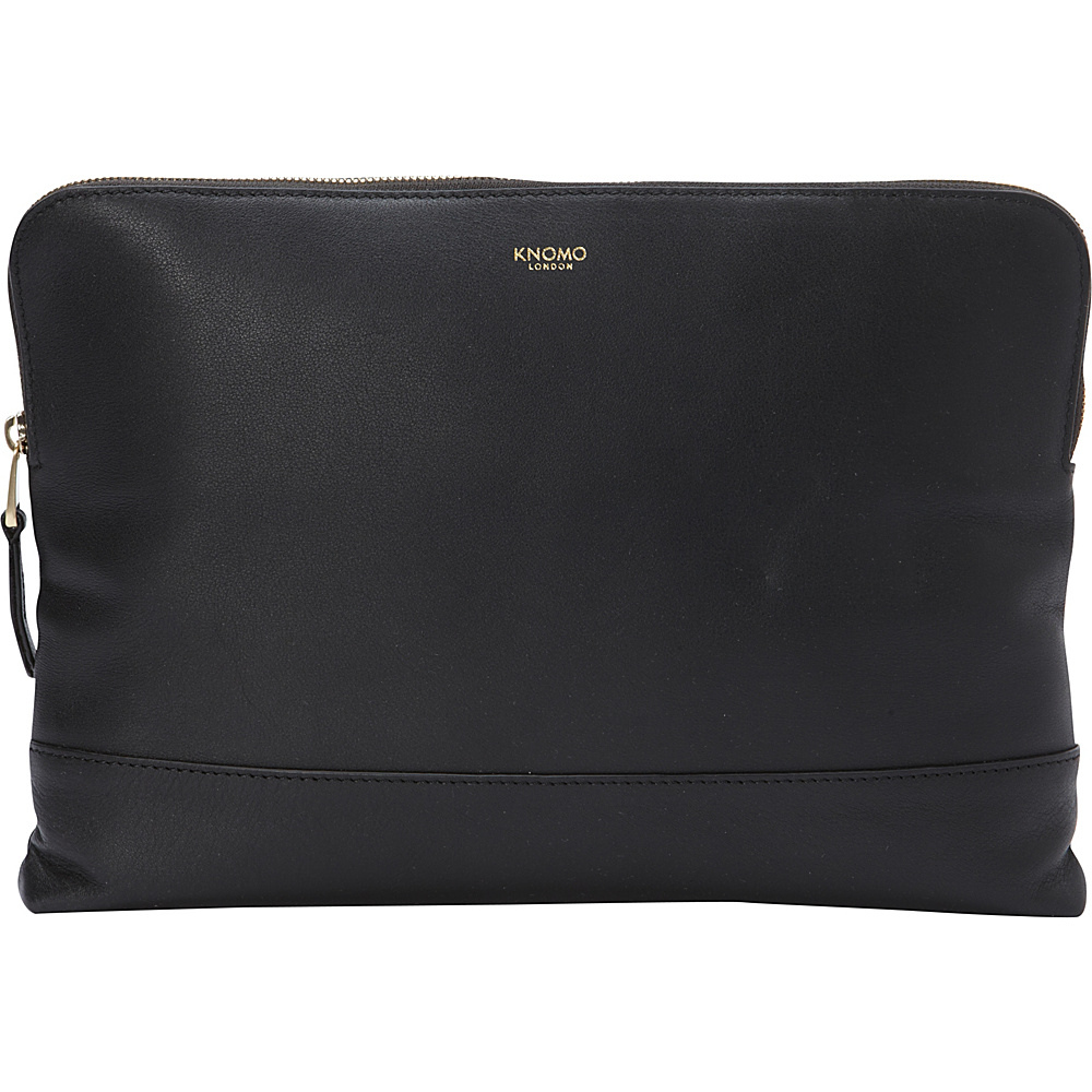 KNOMO London Molton Cross Body Black KNOMO London Leather Handbags
