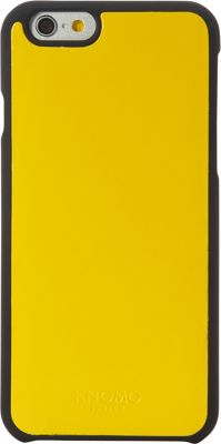 KNOMO London Magnet Open Face iPhone 6/6S Case Yellow - KNOMO London Electronic Cases