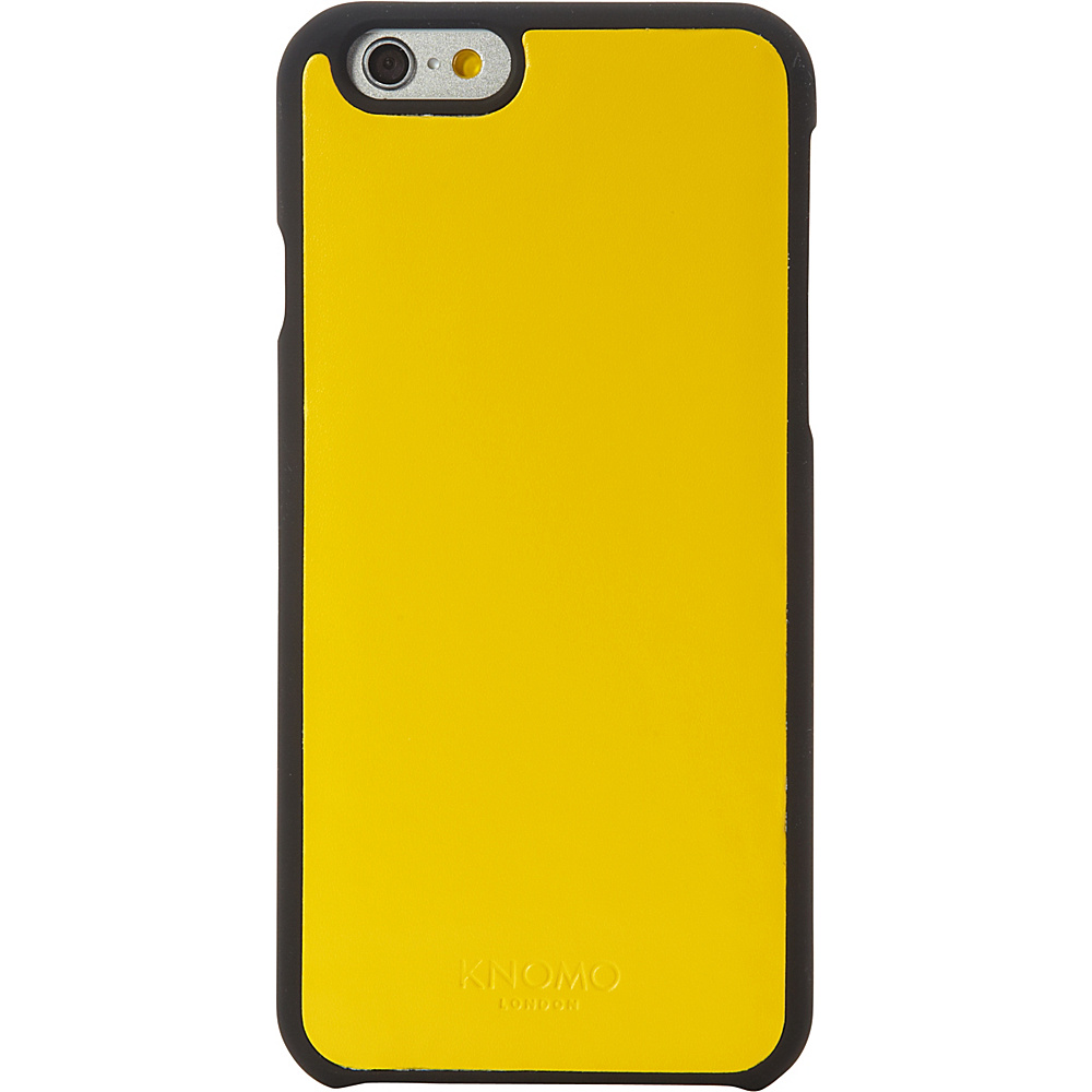 KNOMO London Magnet Open Face iPhone 6 6S Case Yellow KNOMO London Electronic Cases