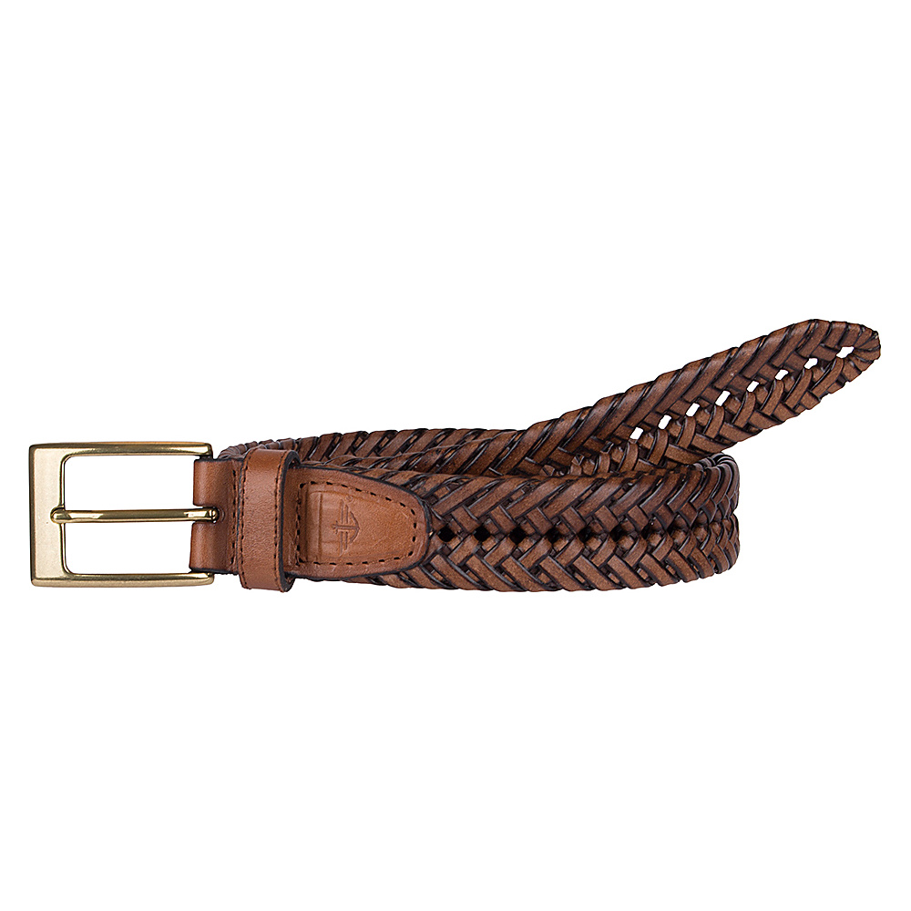 Dockers 32MM V Weave Braid Tan 42 Dockers Other Fashion Accessories