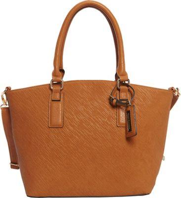 Hush Puppies Jamie Satchel Tans - Hush Puppies Manmade Handbags