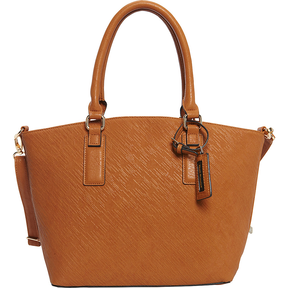 Hush Puppies Jamie Satchel Tans Hush Puppies Manmade Handbags