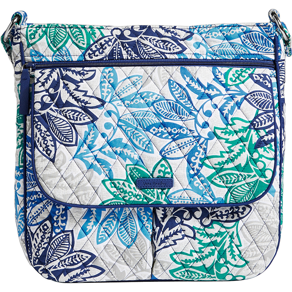 Vera Bradley Double Zip Mailbag Santiago - Vera Bradley Fabric Handbags - Handbags, Fabric Handbags