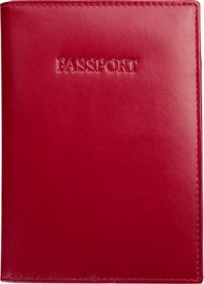 Visconti Soft Leather Secure RFID Blocking Passport Cover Wallet Red - Visconti Travel Wallets