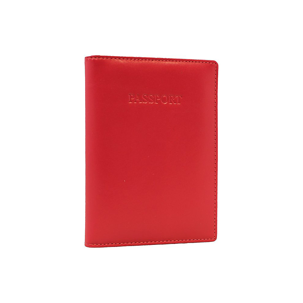Visconti Soft Leather Secure RFID Blocking Passport Cover Wallet Fuchsia Visconti Travel Wallets