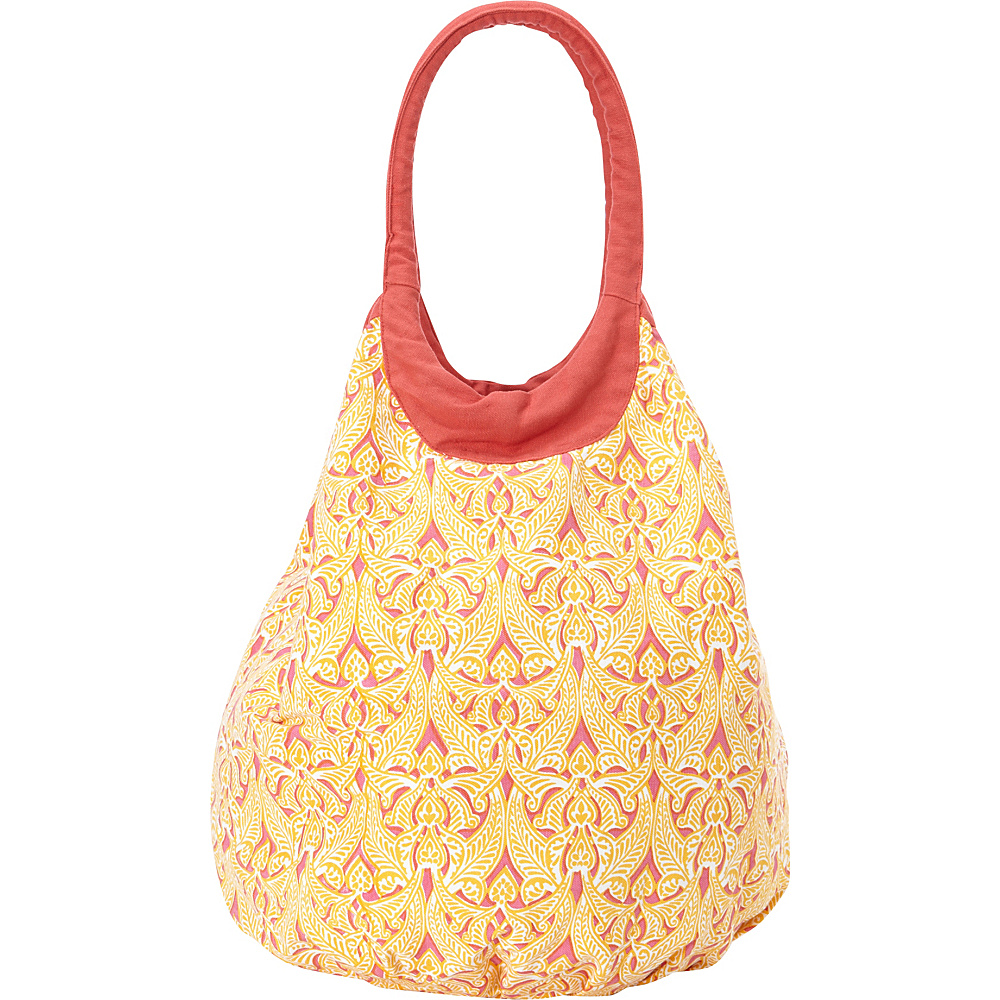 Needham Lane Beach Tote Clare Orange - Needham Lane Fabric Handbags