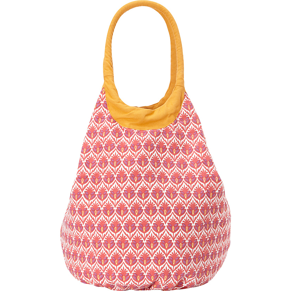 Needham Lane Beach Tote Dorset Red - Needham Lane Fabric Handbags