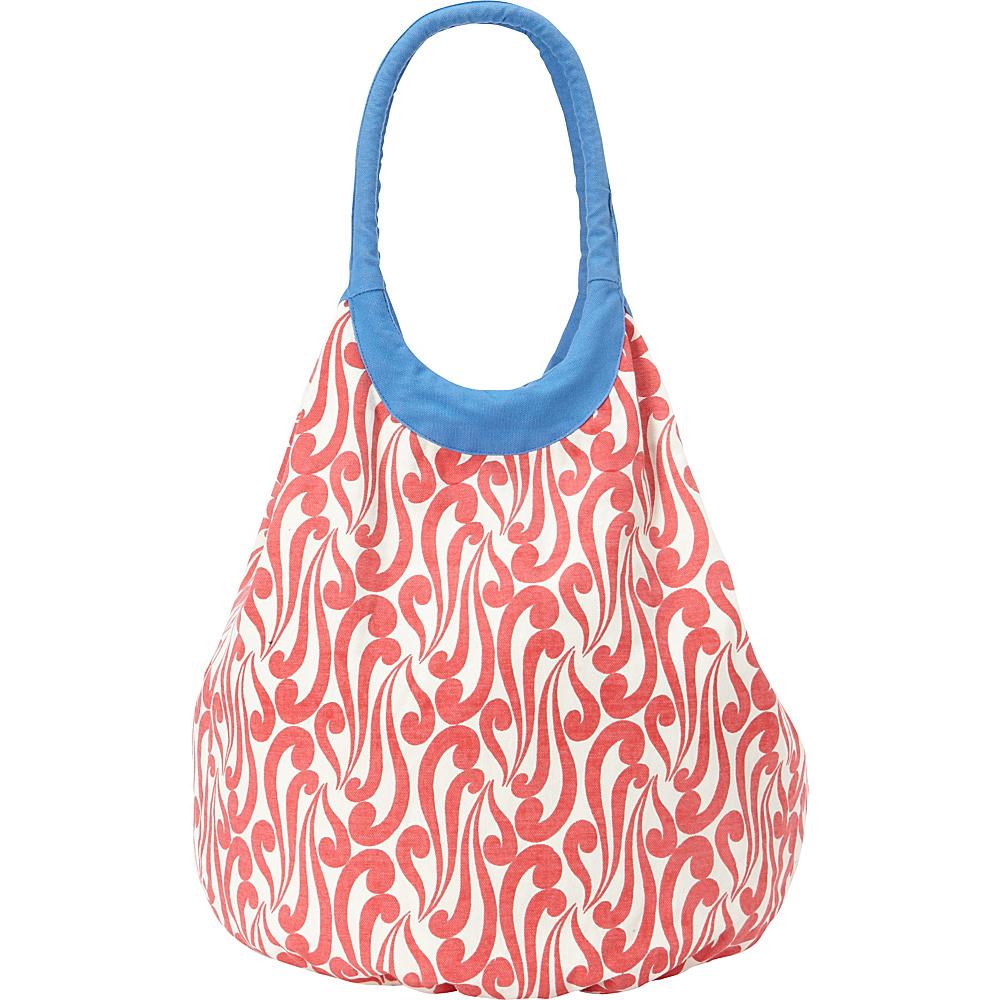 Needham Lane Beach Tote Isabella Red Needham Lane Fabric Handbags