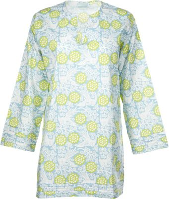 Needham Lane Wynn Tunic S - Pale Blue - Needham Lane Women's Apparel