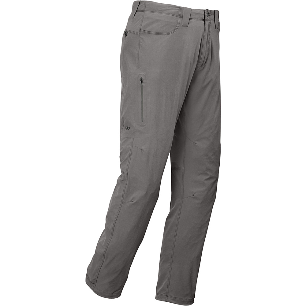 Outdoor Research Mens Ferrosi Pants 36 - Pewter - Outdoor Research Mens Apparel - Apparel & Footwear, Men's Apparel
