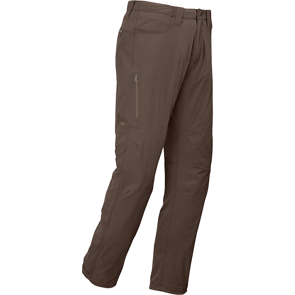 Outdoor Research Mens Ferrosi Pants 36 - Mushroom - Outdoor Research Mens Apparel - Apparel & Footwear, Men's Apparel