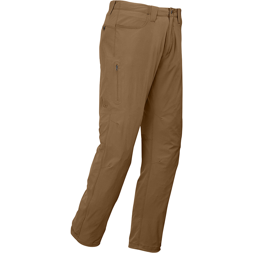 Outdoor Research Mens Ferrosi Pants 34 - Coyote - Outdoor Research Mens Apparel - Apparel & Footwear, Men's Apparel