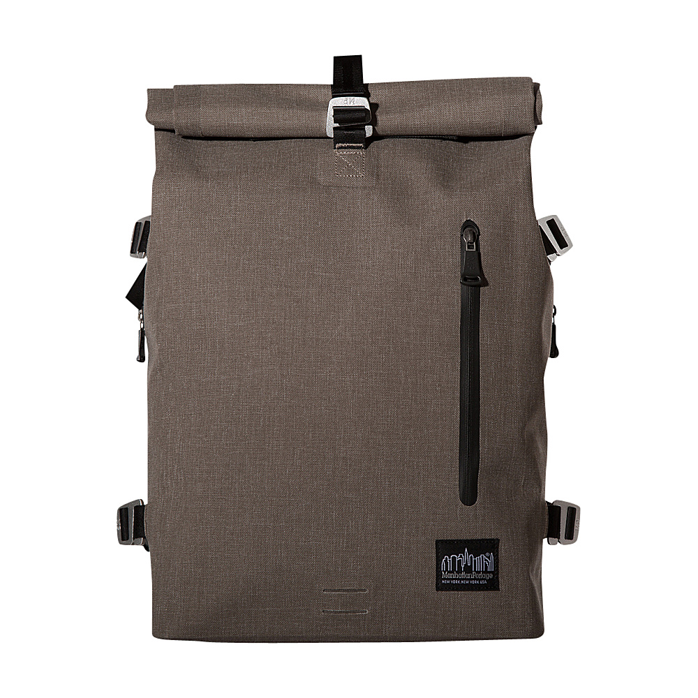 Manhattan Portage Harbor Backpack (MD) Dark Brown - Manhattan Portage Business & Laptop Backpacks - Backpacks, Business & Laptop Backpacks