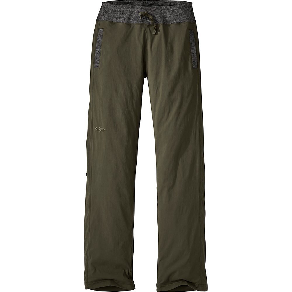 Outdoor Research Womens Zendo Pants 6 - Pewter - Outdoor Research Womens Apparel - Apparel & Footwear, Women's Apparel