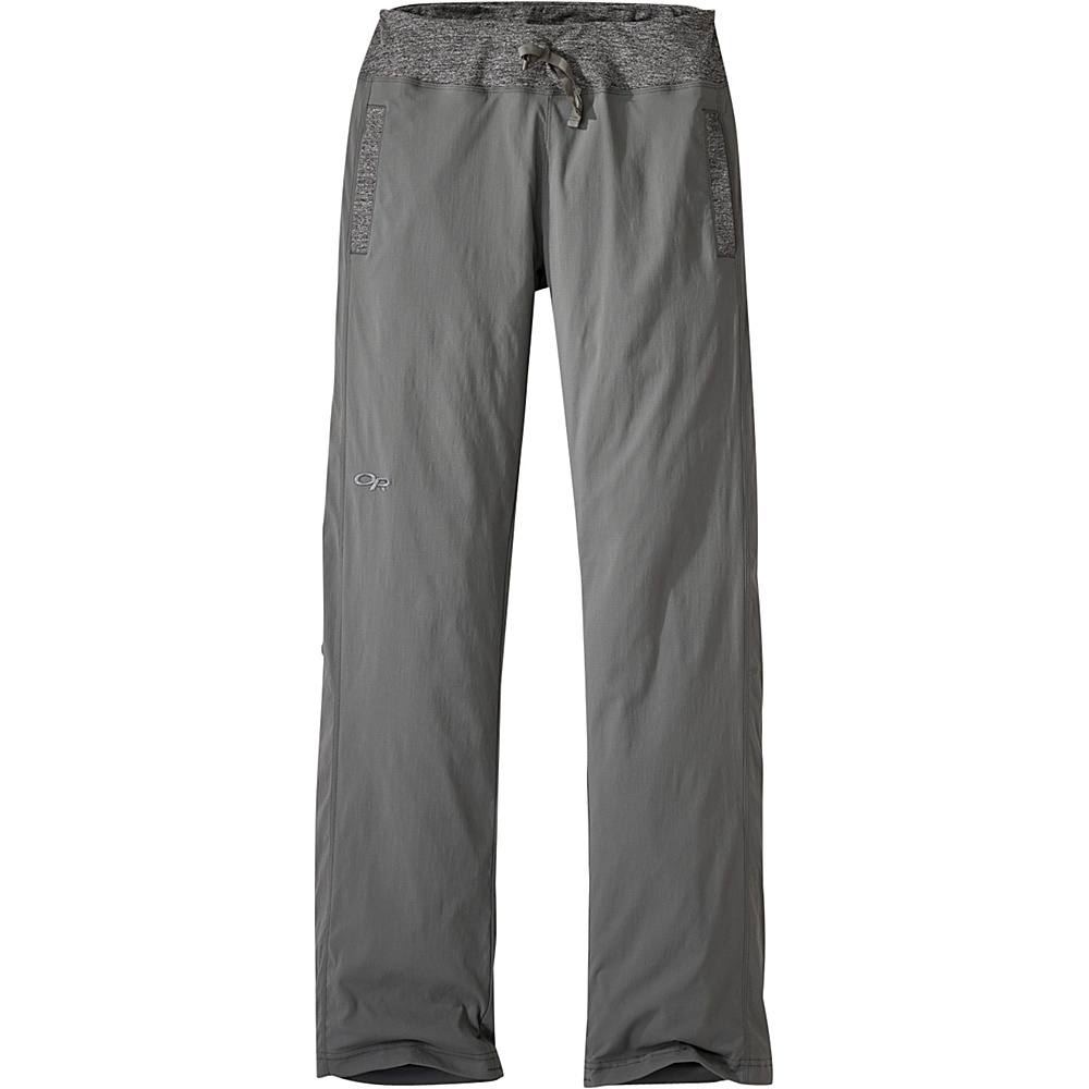 Outdoor Research Womens Zendo Pants 8 - Pewter - Outdoor Research Womens Apparel - Apparel & Footwear, Women's Apparel