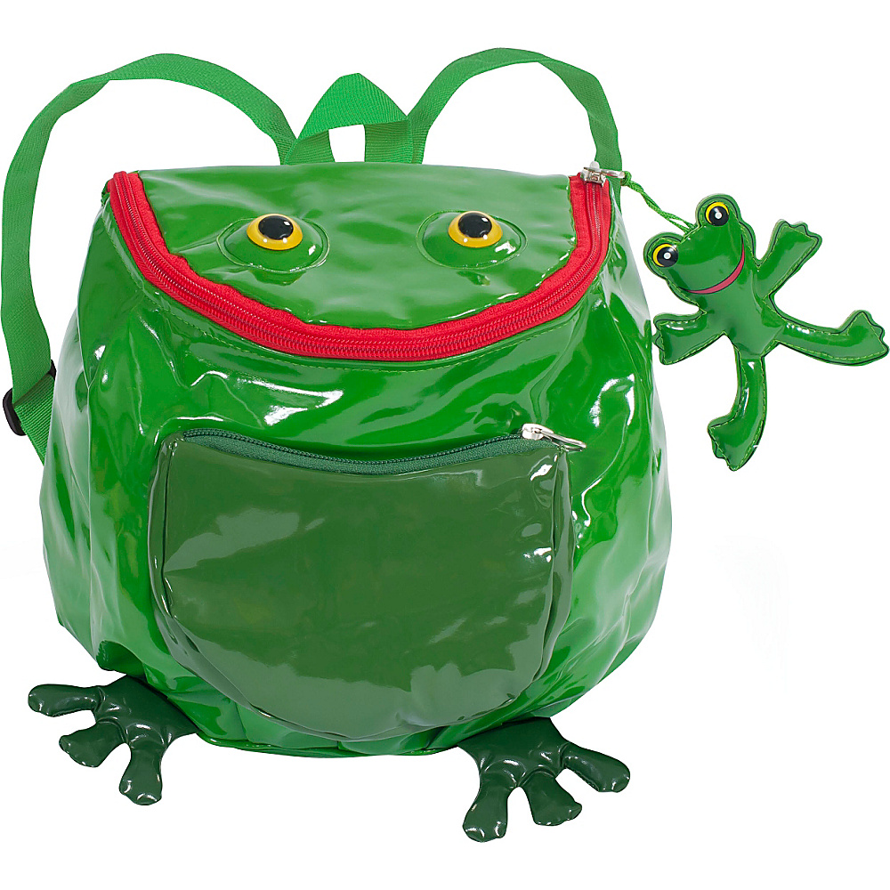 Kidorable Frog Backpack Green - One Size - Kidorable Everyday Backpacks - Backpacks, Everyday Backpacks
