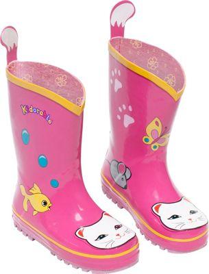 Kidorable Lucky Cat Rain Boots 12
