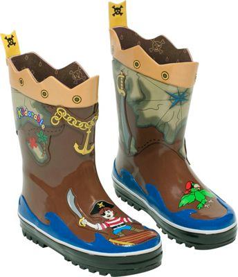 Kidorable Pirate Rain Boots 7
