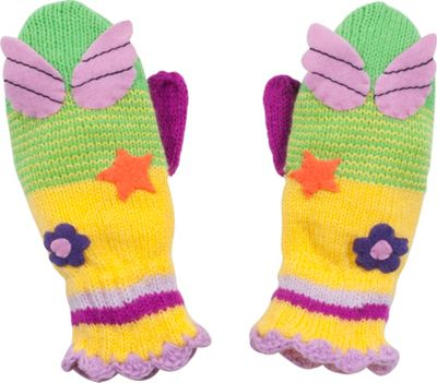 Kidorable Fairy Knit Mittens M - Green - Kidorable Hats/Gloves/Scarves