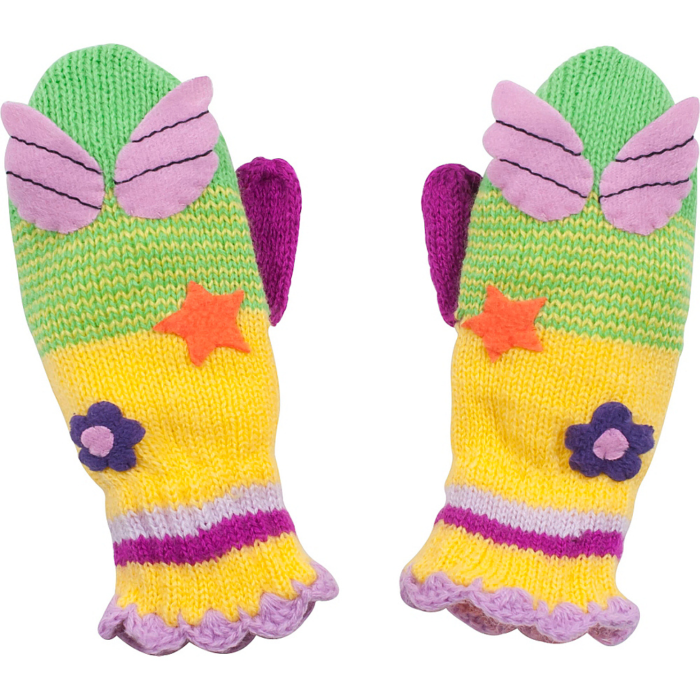Kidorable Fairy Knit Mittens Green Medium Kidorable Hats Gloves Scarves