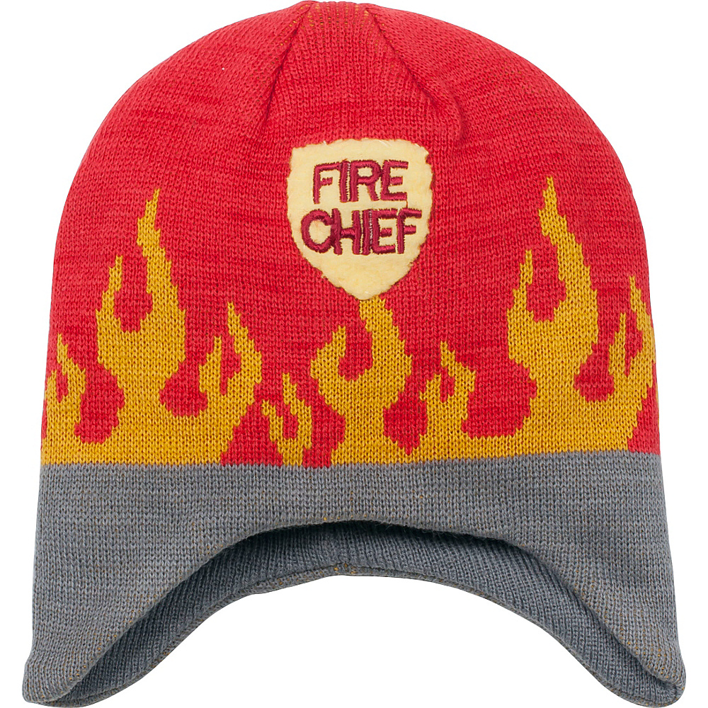 Kidorable Fireman Knit Hat One Size - Red - One Size - Kidorable Hats/Gloves/Scarves - Fashion Accessories, Hats/Gloves/Scarves