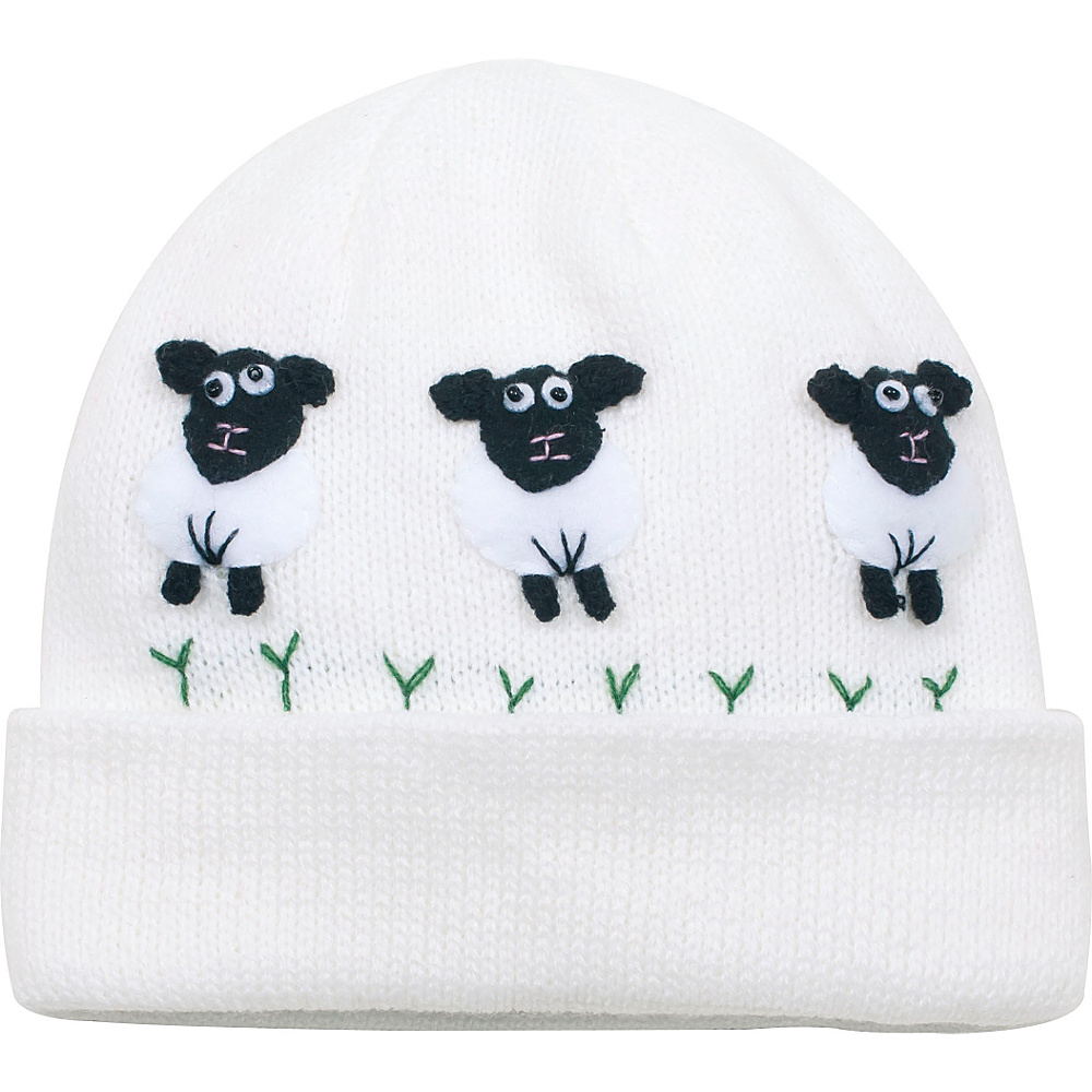 Kidorable Sheep Knit Hat White One Size Kidorable Hats Gloves Scarves