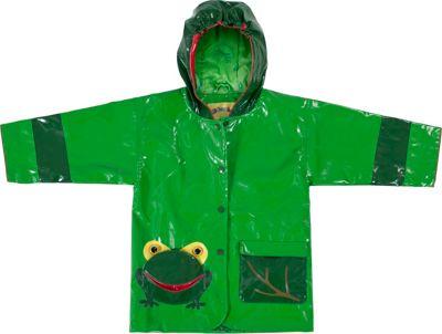 Kidorable Frog All-Weather Raincoat 6/6X - Green - Kidorable Women's Apparel