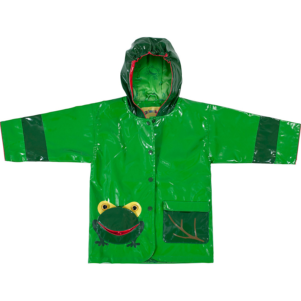 Kidorable Frog All-Weather Raincoat 6/6X - Green - Kidorable Womens Apparel - Apparel & Footwear, Women's Apparel