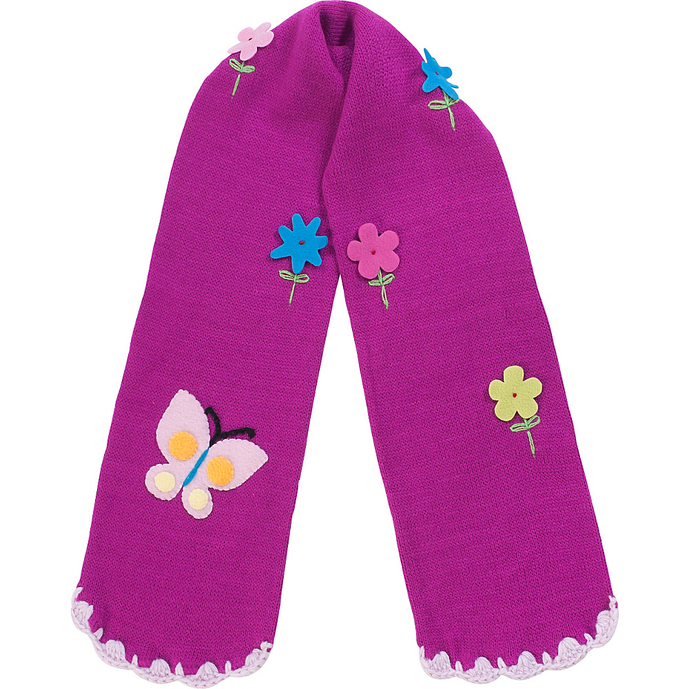 Kidorable Butterfly Scarf Purple One Size Kidorable Hats Gloves Scarves