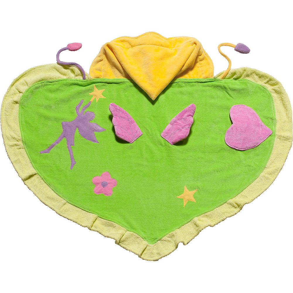 Kidorable Fairy Hooded Towel Green - Medium - Kidorable Travel Health & Beauty - Travel Accessories, Travel Health & Beauty