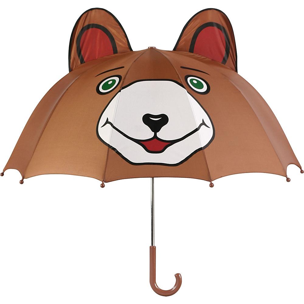 Kidorable Bear Umbrella Brown - Kidorable Umbrellas and Rain Gear - Travel Accessories, Umbrellas and Rain Gear