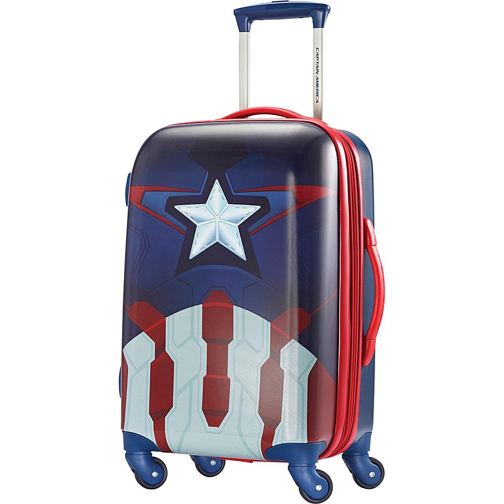 American Tourister Marvel Spinner 21 Captain America - American Tourister Hardside Carry-On