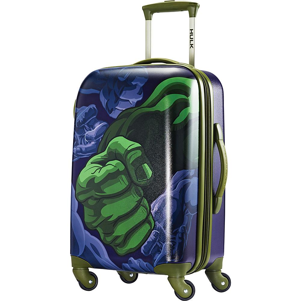 American Tourister Marvel Spinner 21 Hulk - American Tourister Hardside Luggage