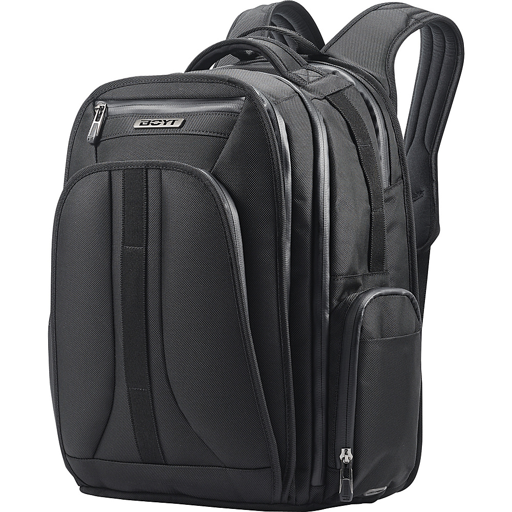 Boyt Mach 1 Softside Backpack Deep Black - Boyt Business & Laptop Backpacks