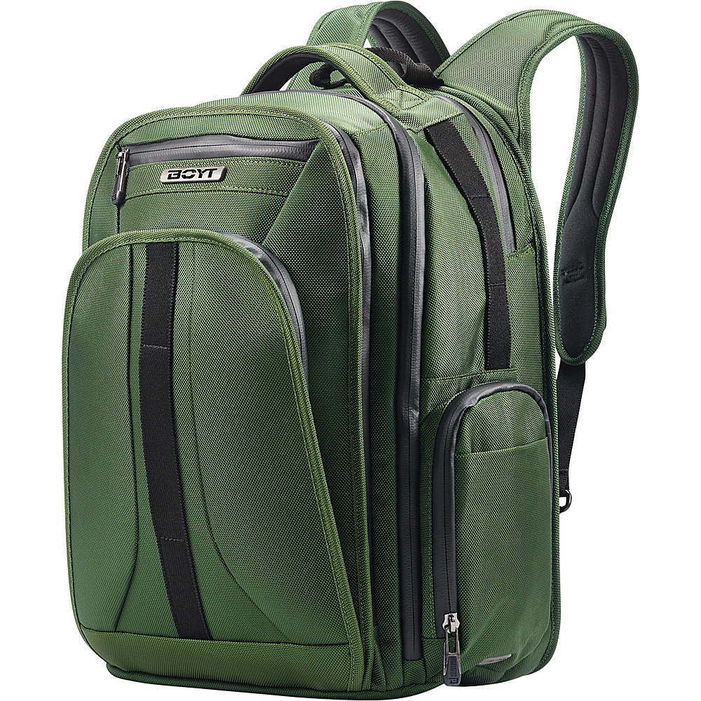 Boyt Mach 1 Softside Backpack Forest Green - Boyt Business & Laptop Backpacks