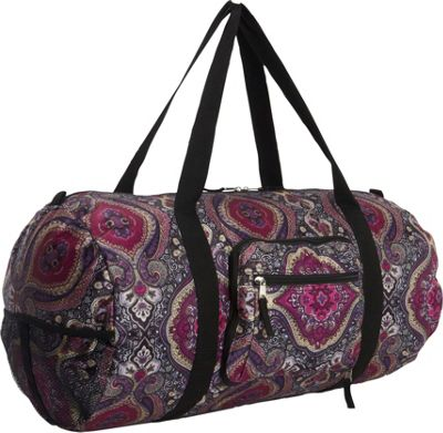 Sacs Collection by Annette Ferber Duffster 2 Piece Set- Full-Size Collapsible Duffel Purple Haze - Sacs Collection by Annette Ferber Travel Duffels