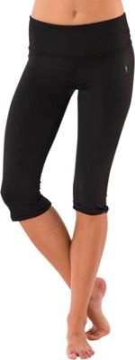 Electric Yoga Shiny Capri L - Black - Electric Yoga Women's Apparel