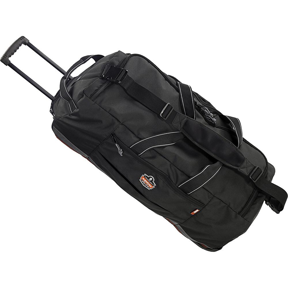 Ergodyne GB5120 Wheeled Gear Bag Black Ergodyne Rolling Duffels