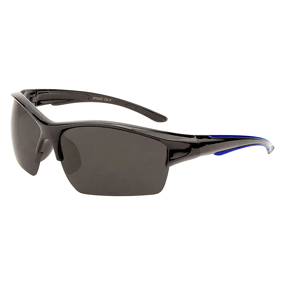 SW Global Eyewear Bryn Half Jacket Fashion Sunglasses Blue - SW Global Sunglasses - Fashion Accessories, Sunglasses