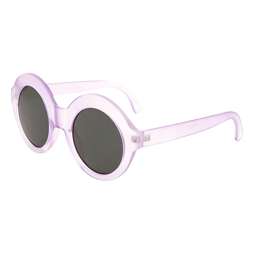 SW Global Eyewear Elba Round Fashion Sunglasses Purple - SW Global Sunglasses - Fashion Accessories, Sunglasses