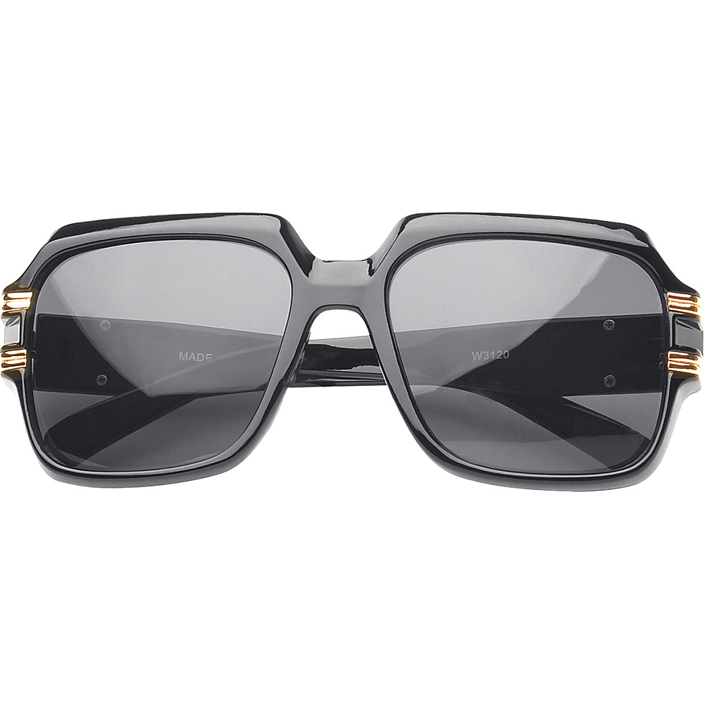 SW Global Eyewear Paxton Square Fashion Sunglasses Black - SW Global Sunglasses - Fashion Accessories, Sunglasses